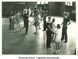 Dance class, The University of Iowa, 1940s