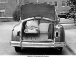 Ambulance trunk, The Unversity of Iowa, 1948