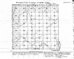 Iowa land survey map of t075n, r022w