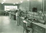 Science laboratory, The University of Iowa, 1930s?