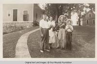 Heitzman family in line