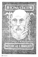 State Medical Library of Iowa bookplate
