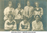 1914 softball team, The University of Iowa, 1914
