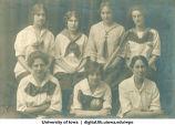 1914 softball team, The University of Iowa, 1914