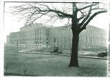 Armory exterior, the University of Iowa, circa 1927