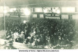 Barbecue in new Armory, The University of Iowa, November 12, 1920