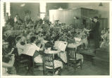 All-State orchestra rehearsing, The University of Iowa, 1930