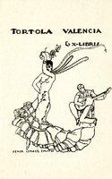 Tortola Valencia Bookplate