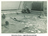 Swim practice, The University of Iowa, 1937