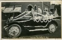 Kalona Parade July 3, 1915