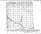 Iowa land survey map of t074n, r014w
