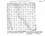 Iowa land survey map of t096n, r014w