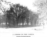 A corner of the campus, The University of Iowa, ca. 1900