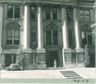 South entrance of Schaeffer Hall, The University of Iowa, 1930s?