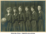 Women's basketball team, The University of Iowa, 1919