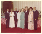 Elmer and Mary Louise Smith with other couples, Washington, D.C., 1970s