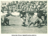 Iowa football game, The University of Iowa, 1921?