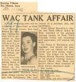 WAC tank affair