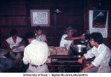 Lunchtime, Atarashiki Mura commune, Saitama-ken, Japan, 1965