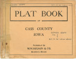 Plat book of Cass County, Iowa