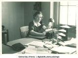 Typing, The University of Iowa, 1920s