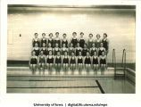 Swim team, The University of Iowa, 1937