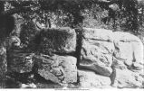 Rocks in the valley of the Yellow River, Iowa, late 1890s or early 1900s