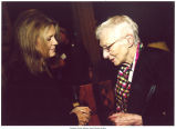 Louise Noun and Gloria Steinem, Des Moines, Iowa, 2002