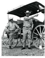 Conservationists Henry Ortigies and George Hosfelt