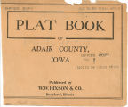 Plat book of Adair County, Iowa