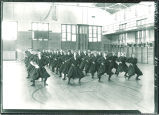 Women's gym class, The University of Iowa, February 17, 1919
