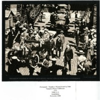 President Woodrow Wilson returning home from Versailles