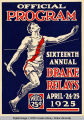 Drake Relays Program Cover, 1925