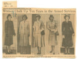 Women chalk up ten years in the armed services