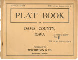 Plat book of Davis County, Iowa
