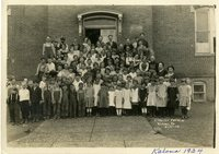 1924 Kalona Elementary School class picture