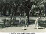 Tetherball, The University of Iowa, 1930s