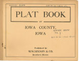Plat book of Iowa County, Iowa