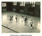 Six-on-six women's basketball, The University of Iowa, 1937