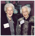 Mary Louise Smith and Louise Noun, Des Moines, Iowa, October 1, 1996