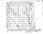 Iowa land survey map of t071n, r027w
