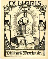 Walter E. Wentz, Jr Bookplate