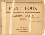 Plat book of Madison County, Iowa
