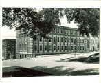 Street view of the Chemistry-Botany Building from the southeast corner, The University of Iowa, 1930s