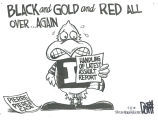 Black and gold and red all over ... again