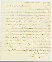 52. Iowa Gov. Samuel J. Kirkwood to Lincoln on military governorship of Arkansas