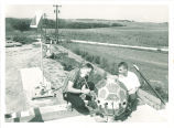 William Whelpley and George Ludwig with Iowa-made detectors for Explorer VII, The University of Iowa, September 24, 1964