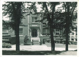 University High School, now called North Hall, facing east, The University of Iowa, July 12, 1938