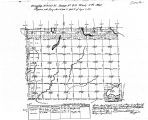 Iowa land survey map of t100n, r040w