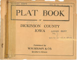 Plat book of Dickinson County, Iowa